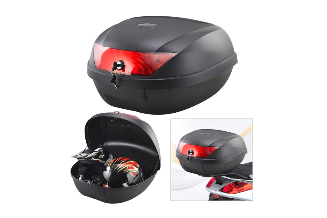 Motorcycle Touring X-LARGE Tail Trunk Luggage Box