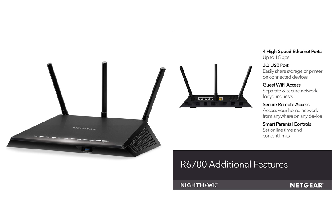 NETGEAR Nighthawk Smart Wi-Fi Router