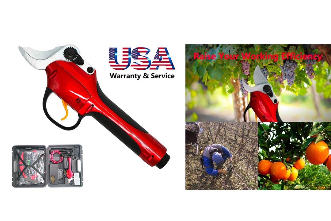PowerBay Electric Pruning Shears and Electric Pruner Garden Garden Grafting Pruner