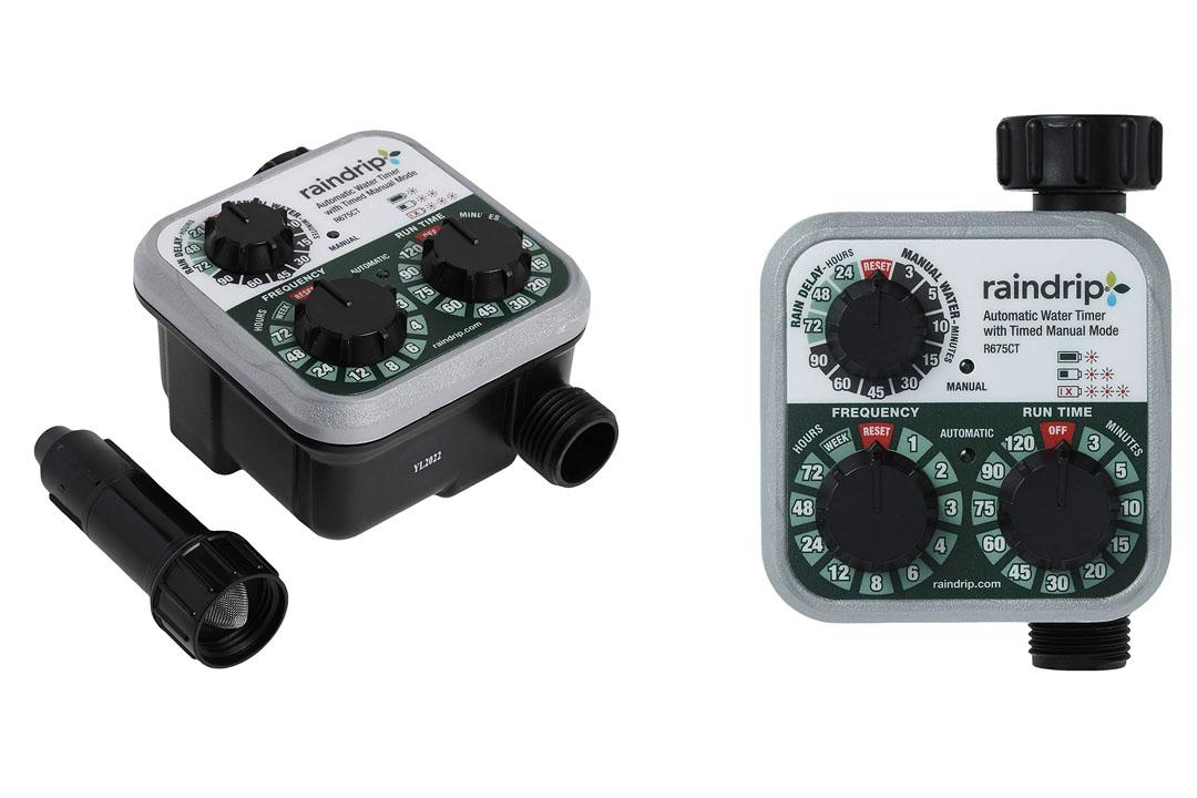 Raindrip R675CT Analog 3-Dial Water Timer