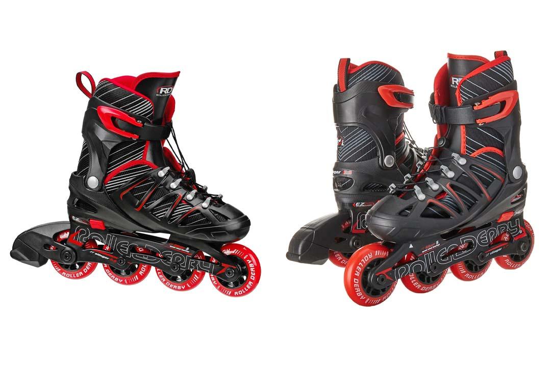 Roller Derby Boy's Stinger 5.2 Adjustable Inline Skate