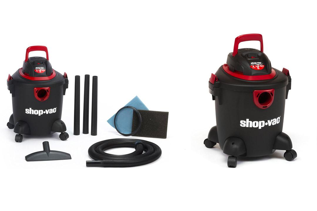 Shop-Vac 2030500 5 Peak HP Aqua Vac Wet Dry Vacuum