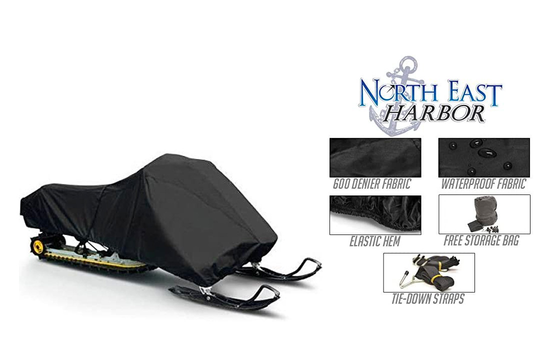 Snowmobile cover covers arctic cat
