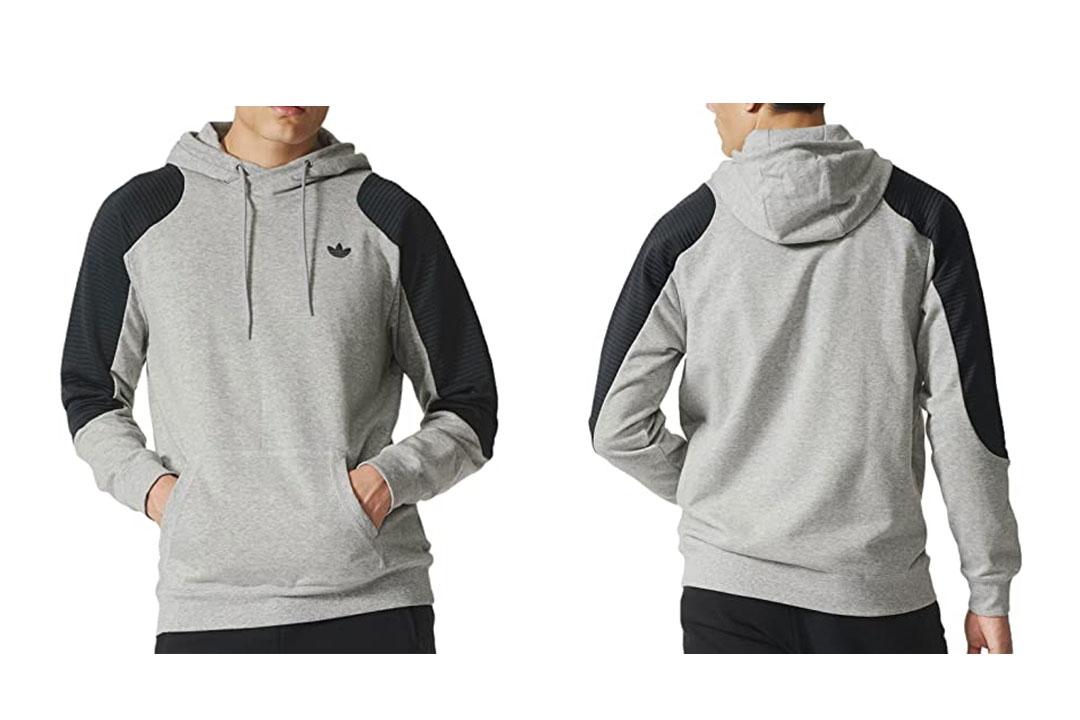 The Adidas Originals Men's Sport Luxe Moto Hoodie