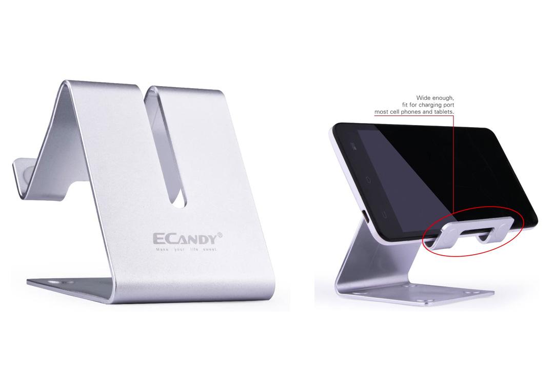 The Ecandy Solid Aluminum Desktop Stand
