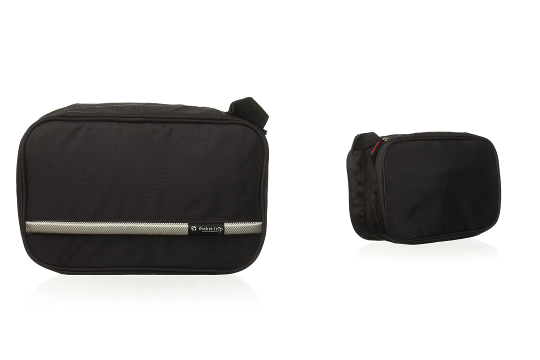 The Pockettrip Hanging Bag Carry Case (Black)