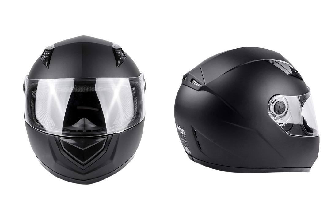 Typhoon Helmets Adult Full Face Snowmobile Helmet With Heated Shield DOT