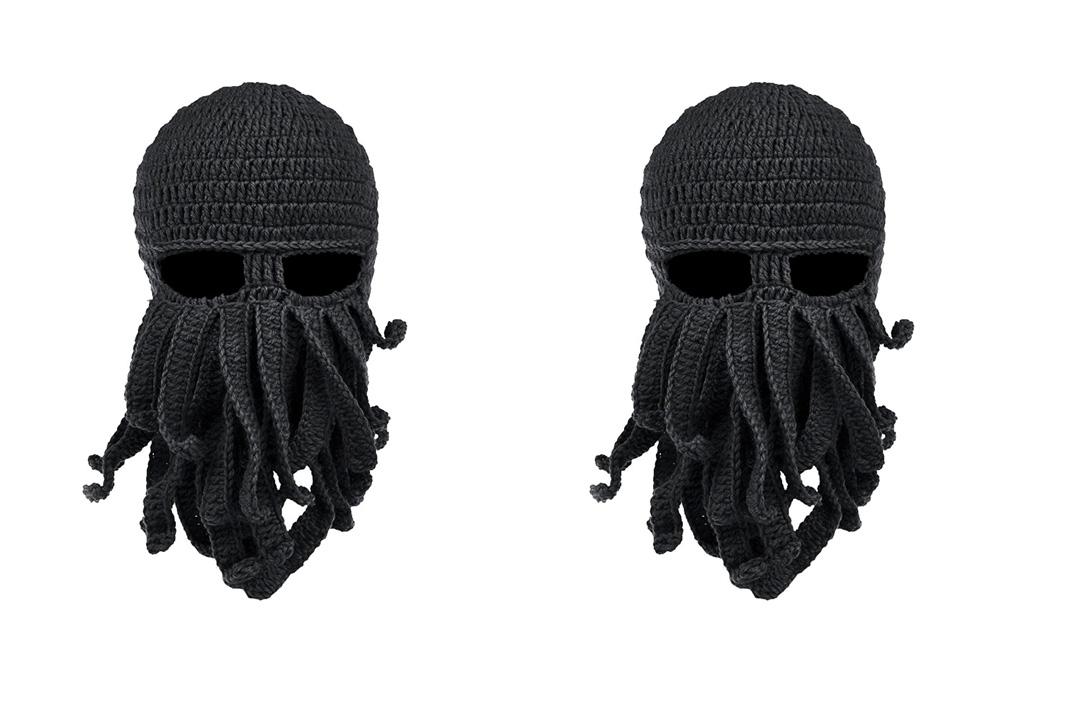 Vbiger Beard Hat Beanie Hat Knit