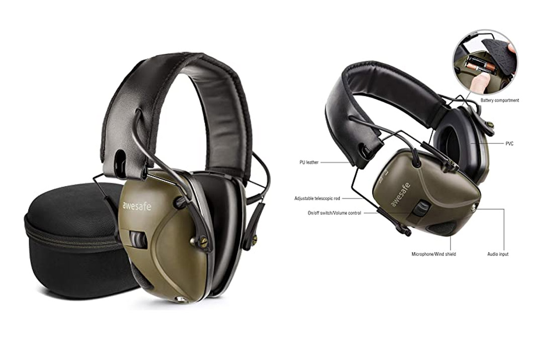 Electronic Shooting Earmuffwesafe GF01+Noise Reduction Sound Amplification Electronic Safety Ear Muffs
